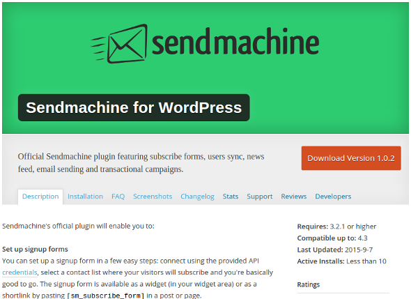 sendmachine_wordpress